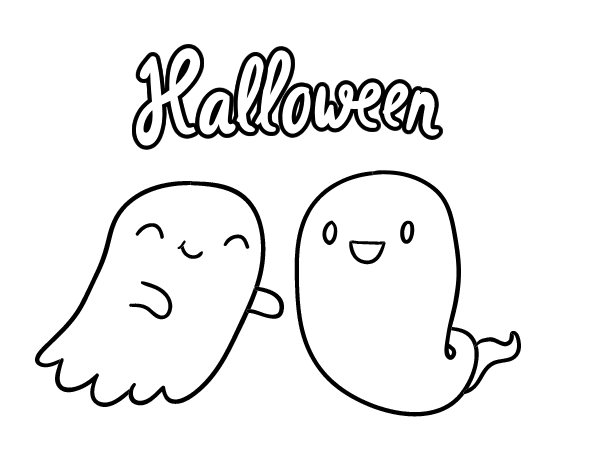 Selezionato Fantasma Halloween Da Colorare Disegni Da Colorare