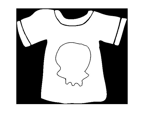 Disegno Di Maglietta Emo Da Colorare Acolore Com