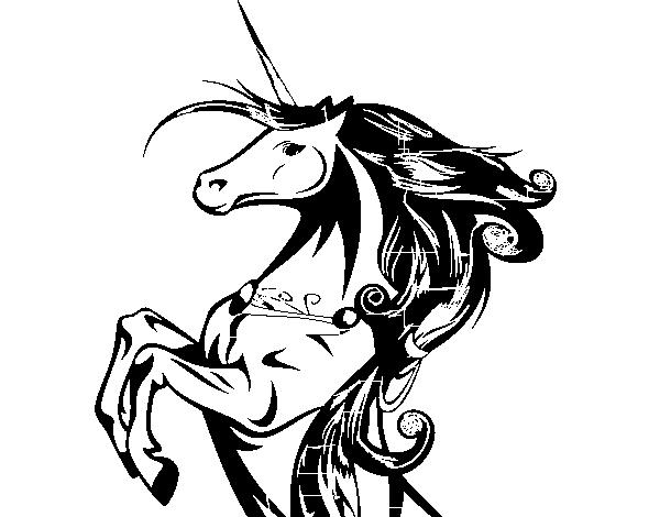 Disegno Di Unicorno Magico Da Colorare Acolorecom