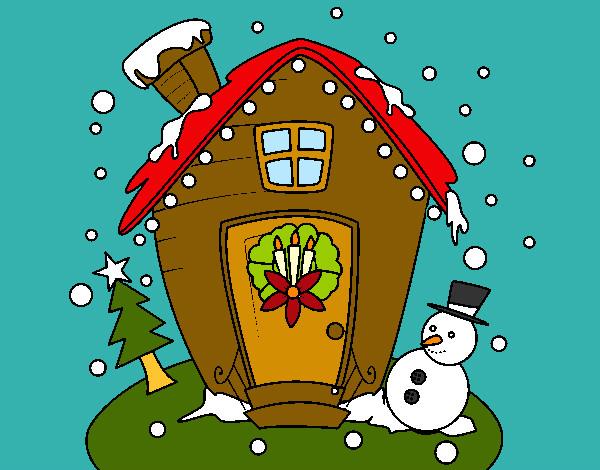 Disegni Paesaggi Di Natale.Disegni Di Paesaggi Di Natale Da Colorare Acolore Com